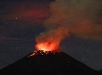 Comité científico de Protección Civil analiza explosiones en Popocatépetl