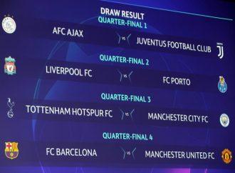 Definidos los cuartos de final de la Champions
