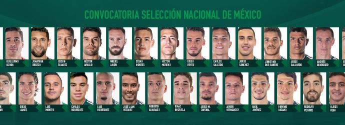 Dan a conocer la Convocatoria de la Selección Nacional de México