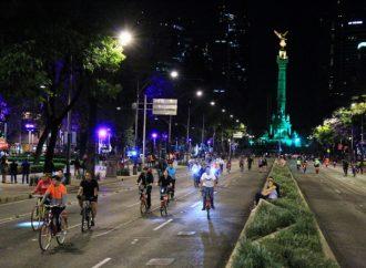 Paseo Nocturno recorrerá 18 kilómetros de la Ciudad de México