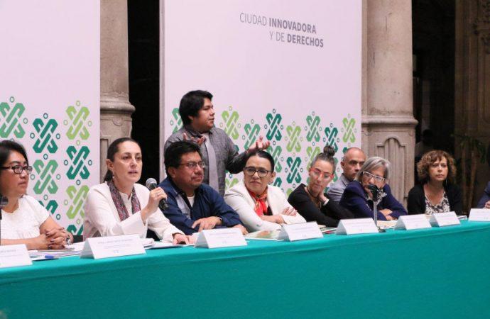 GobCDMX instala la Primer Sesión Ordinaria de la Comisión Interinstitucional de Pueblos Indígenas