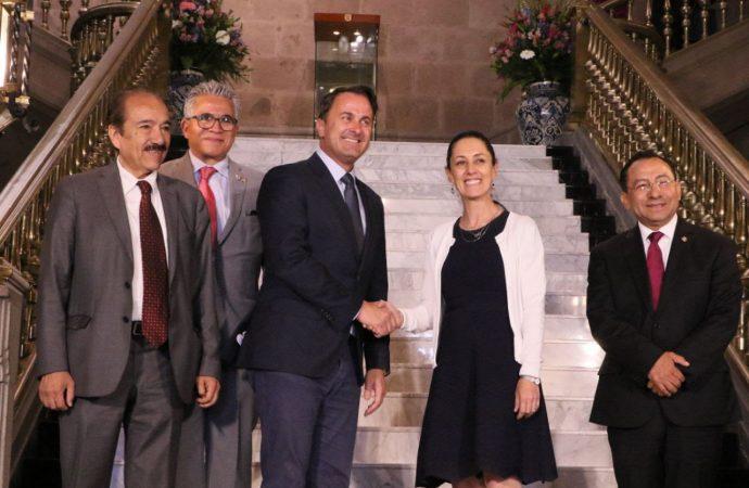 """GobCDMX nombra """"Huésped Distinguido"""" al primer ministro de Luxemburgo"""