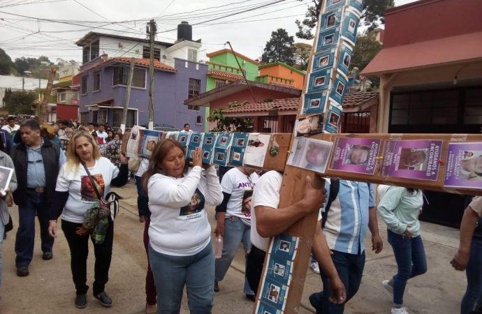Madres cargan su cruz por hijos desaparecido