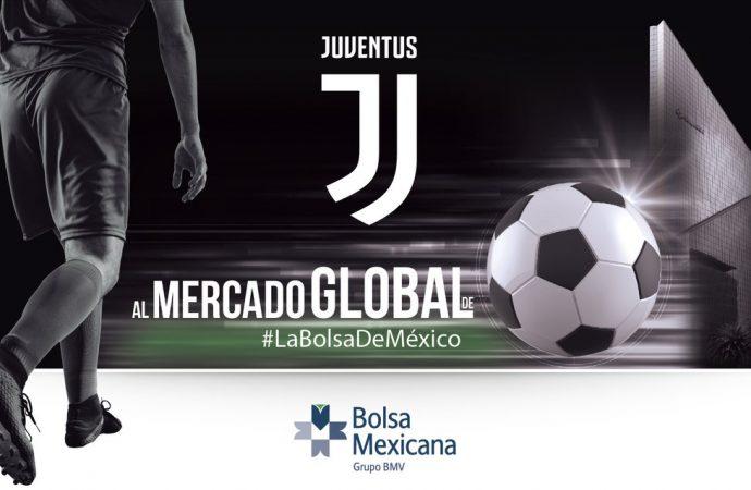 Juventus italiano, primer club de futbol que cotiza en Bolsa Mexicana de Valores