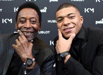 Hospitalizan a Pelé luego de encuentro con Mbappé