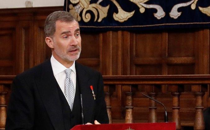 Rey de España elogia solidaridad de México