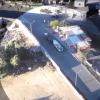 El enfrentamiento entre marinos y pescadores furtivos visto desde dron