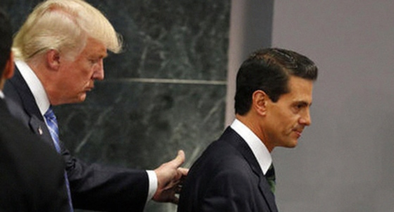 Trump debe pensar que aún trata con los corruptos mexiquitas