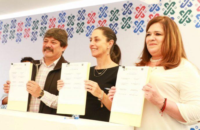 GCDMX y Alcaldía de Tláhuac otorgan 119 apoyos a Unidades Habitacionales