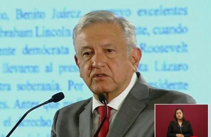 Pueblo de México no merece trato que quiere aplicar Trump, responde López Obrador