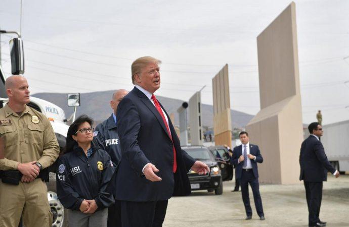 Trump adelanta que realizará importante declaración sobre frontera sur