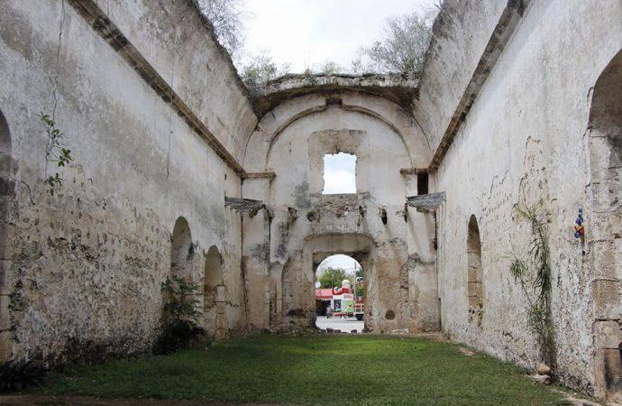 Denuncian pobladores de Kikil, Yucatán, presunta entrega de ex convento franciscano a personas ajenas a la comunidad