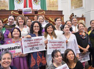 El Congreso CDMX aprueba la Reforma en Paridad de Género