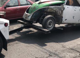 """Arranca operativo """"Calidad de Vida; Retiro de Vehículos Abandonados"""" en Iztacalco"""
