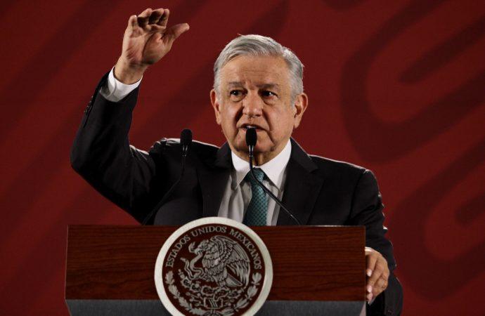 Hay un proceso de limpia en instituciones del gobierno: López Obrador