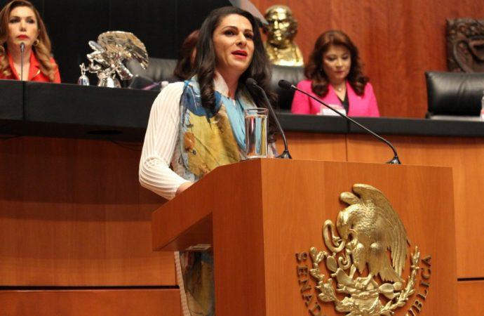 """Prepara Ana Guevara """"granadas"""" para """"guerra""""  contra diputados"""
