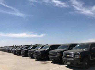 Automóviles que no se vendieron en subastas para la Guardia Nacional