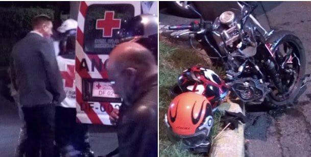 Detienen a Bisogno por atropellar a motociclista; en redes reportan que iba alcoholizado
