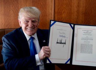 """Dice Trump que su """"acuerdo secreto"""" con México se aplicará cuando él """"quiera"""""""