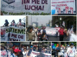 El IEMS: en riesgo de huelga, ante la falta de propuestas de la autoridad.