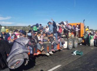 Fenómeno Migratorio no se puede combatir cerrando fronteras: AMLO