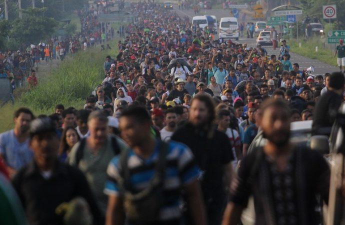 Contención de indocumentados se contempla en la ley, señalan en Tabasco