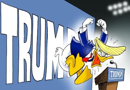 Trump quiso ser un cisne negro y terminó siendo un pato criollo