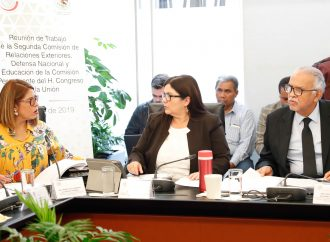 Avala Comisión propuesta de ratificación de embajadores para la República de India y Turquía