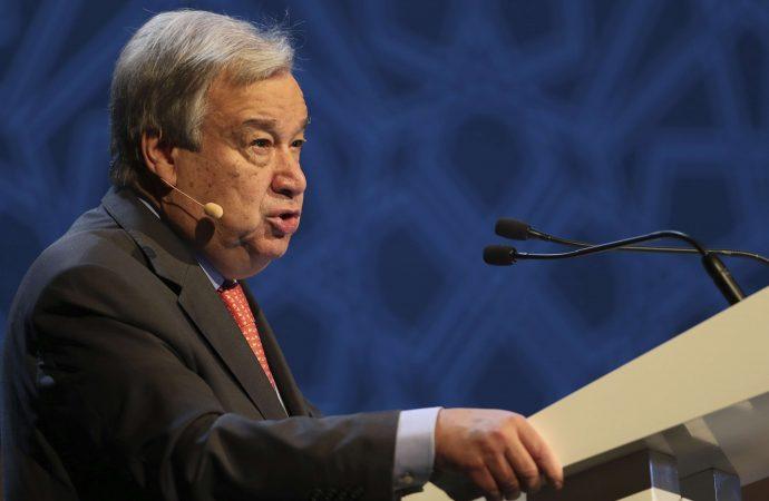 Guterres: Colombia debe respetar compromisos con ex-FARC