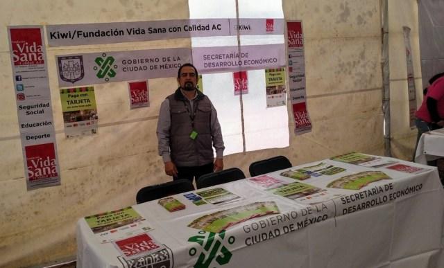 Feria de la tecnología en Iztacalco