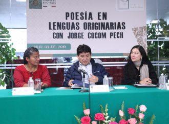La poesía maya en la Cámara de Diputados con rítmicos sonidos expresa el sentir indígena