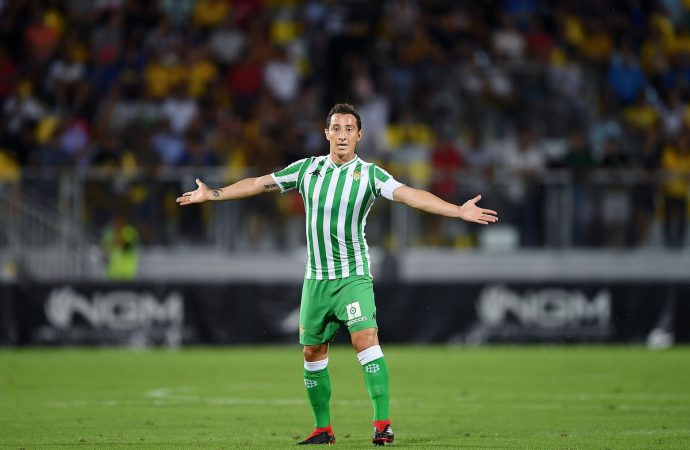 Andrés Guardado: La Liga Mx no se ve en Europa