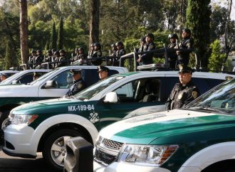 Dan 32 nuevas patrullas y 10 motonetas para vigilar la Magdalena Contreras