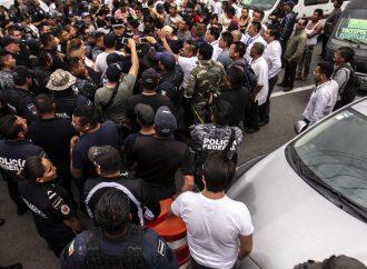 Policía Federal bloquea nuevamente la México-Pachuca