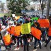 Policías federales protestan afuera del Senado, buscan reunión con legisladores