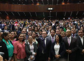 Diputados ratifican y rinde protesta como titular de la SHCP, Arturo Herrera Gutiérrez