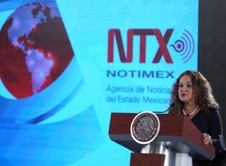 SanJuana Martínez denuncia huachicoleo informativo en Notimex