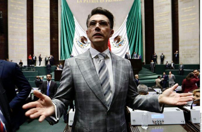 Acusa PAN falta de apoyo de Sergio Mayer a comunidad fílmica