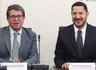 Mónica Fernández, nueva presidenta del Senado; Batres descalifica elección