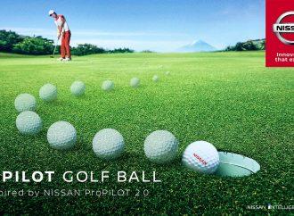 Nissan Propilot y la pelota que te convierte en un experto del golf