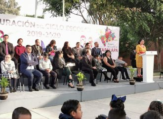 Después de dos años, entregan escuela rehabilitada en Iztapalapa
