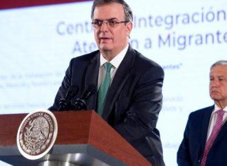 México debe hacer más para frenar migración: EU; Ebrard responde