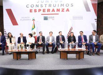 Morena reformará ley para quedarse presidencia en San Lázaro