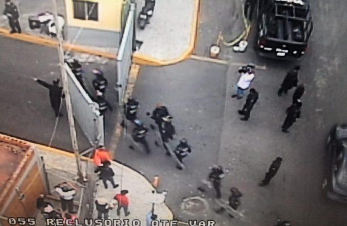 Confirman un muerto y dos heridos tras riña en Reclusorio Oriente