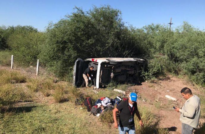 IMSS da de alta a último reportero accidentado en Sonora