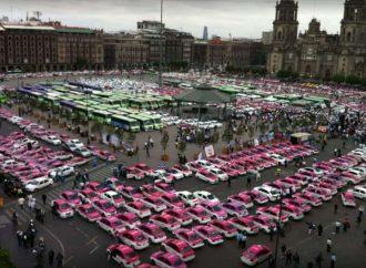 """Taxistas dicen """"estar abiertos a la competencia"""""""