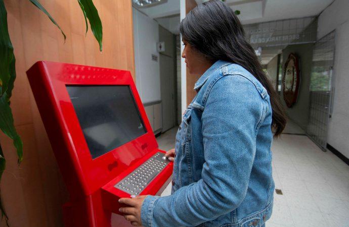 Instalan módulos de denuncia exprés en las facultades de estudios superiores de la UNAM