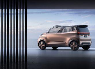 Nissan devela el vehículo concepto eléctrico IMk, diseñado para los viajeros urbanos