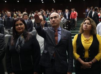 Rinde protesta Ricardo Barraza Gómez, como CCS de la Cámara de Diputados