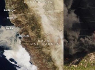 Incendios de Baja California, controlados en 90 por ciento